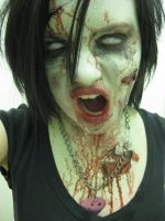 Me As Zombie by takingbestguesses13