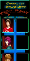 Scott Pilgrim vs. The World Character Recast Meme by MarioFanProductions
