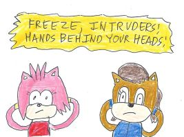 Amy and Sally - Hands Behind Your Heads by dth1971