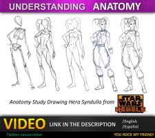 Tutorial Star Wars Anatomy by JesusAConde