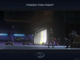 Halo 3 - Finish the Fight by Lucifer4671