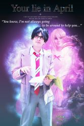 Your Lie In April: I won't always be there... by MetroProductions