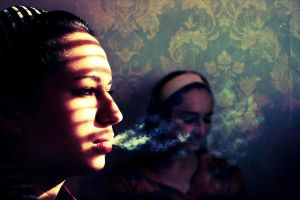 Girl Talk And Tobacco by Ytzeek