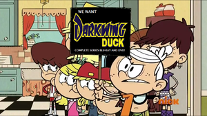 Lincoln Wants DarkWing Duck Complete Series by Prentis-65
