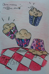 June Makes Muffin's alive :D by John-Blund