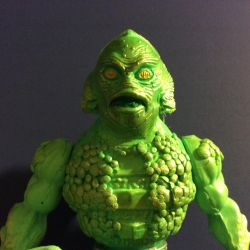 Monsters of the Universe Gillman figure by GoobleGobbleStudios