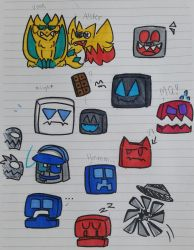 GD doodles 1 by THAKOOLONE