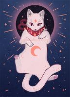 Eclipse Celestial Cat by Weissidian