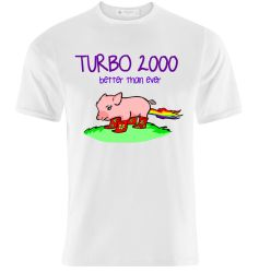T-Shirt Design: Turbo 2000 by K-O-S-A-K