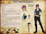 Character Sheet: Arianne Rivera by Lalliebear
