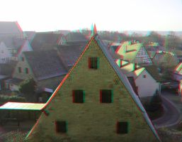 Abenberg 19 3D Anaglyph by yellowishhaze