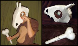 Pokemon - Cubone Skull Cosplay