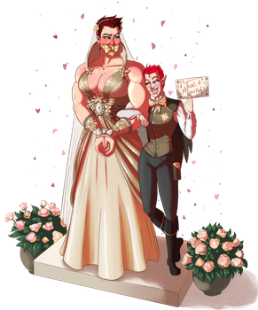 Just Married by PumpkinPinUp