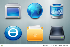 Eico 1 Year For IconPackager by ipholio