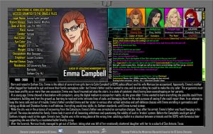 [Earth-27: Oracle Files] Emma Campbell (1/2) by Roysovitch