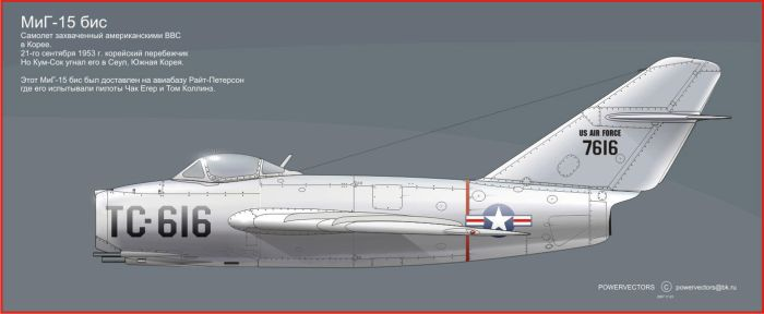 MiG-15 bis by powervectors