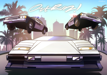 OutRun! by oLEEDUEOLo