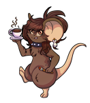 [TFM Gift]  Coffee Addict (For Ilcecilell/Cebuni) by Maechi-Toff