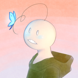 Sup Guy + Butterfly by Milk-Addicc