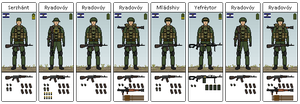 South Eakan Infantry Squad by hydraulicoilman