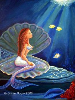 The Clamshell Mermaid by mythicalfanclub