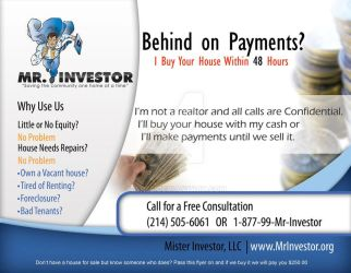 flyer for mr. investor by ishee