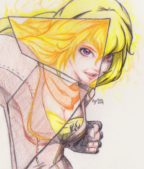 Yang Xiao Long by redgreave