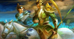 Ma chao and Zhao yun ----- on the way ? by ultramarineandwhite