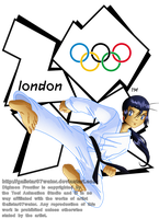 Koji at the 2012 London Olympics by Galistar07water