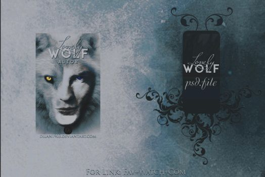Lonely Wolf Psd Header by dilan1903