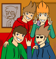 Eddsworld selfie by Gatagamer