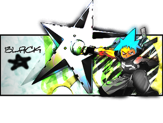 Black star Popout sig by Leon1337Assasin
