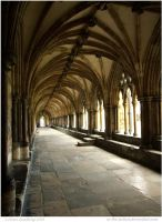 The Cloisters by In-the-picture