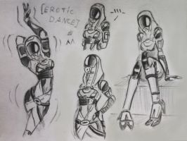 sketches Tali (53) by spaceMAXmarine