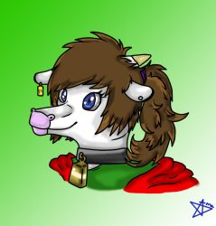 The lady cow. by redhedge1
