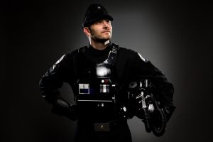 Tie Fighter Pilot by convokephoto
