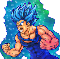 Vegeta limit breaker by ARTmageddon