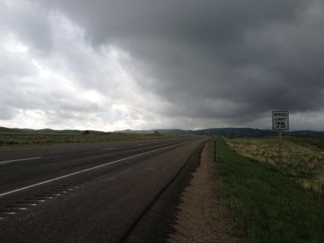 Stormy evening in Wyoming 3 by Chocoppyica