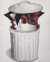 belongs to the trash by Zweihanderyt