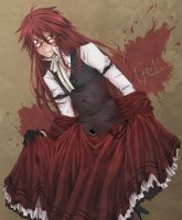 Black Butler: Grell by SlothGirl