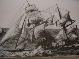 Ship From Master and Commander by Raipd
