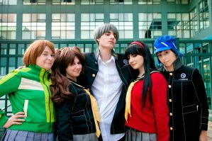 Persona 4 - Why choose just one!? by BLUEsteelProductions
