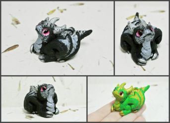 Dragon baby figurine by Barsudrak