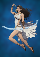 Greek Goddess Artemis by OfficalROTP