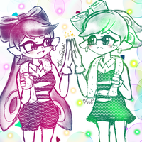 Squid Sisters *Another great concert cousin* by kiraradaisuki