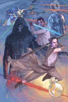 Star Wars the Force Awakens is almost here! by benttibisson