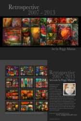 Retrospective 2007 - 2013 by peggymintun