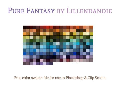 Pure Fantasy (Free Color Swatches) by lillendandie