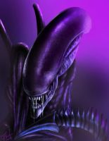 RIP H.R Giger (Tribute) by Destinyfall