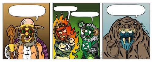 Another Buso-jaras comic strip from me by Kozi87